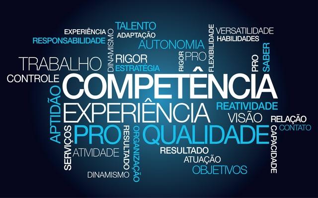 Competência experiência trabalho palavras-chave pro animação